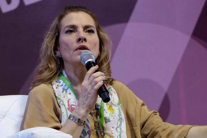 Beatriz Gutiérrez Müller. [Foto Tania Victoria / Secretaría de Cultura CDMX]