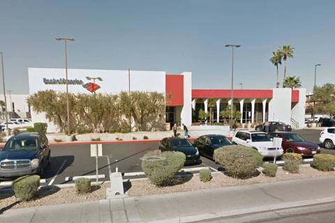 Bank of America en 4795 S. Maryland Parkway en Las Vegas (Google Maps).