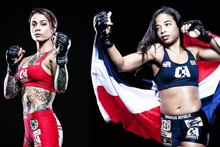 """La pelea femenina en las 120 libras, entre la ex-campeona mundial Desiree """"Dirty Dez"""" Yáne ..."""