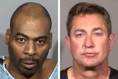 Ronald Leavell, izquierda, y Scott Gragson (Departamento de Policía Metropolitana de Las Vegas)