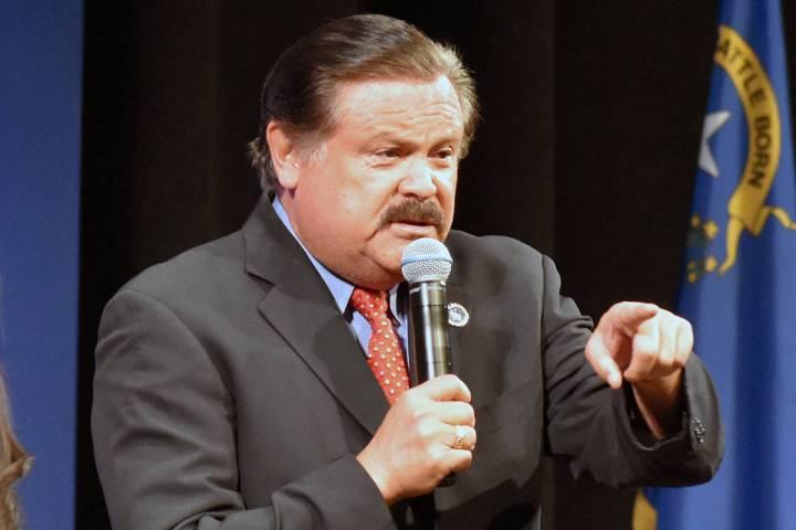 Domingo García se reunió con Nancy Pelosi y miliares de alto rango en Washington, luego en un ...