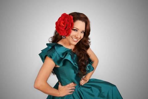 La cantante Nadia ha iniciado con una atractiva serie de conciertos virtuales. [Foto Cortesía]