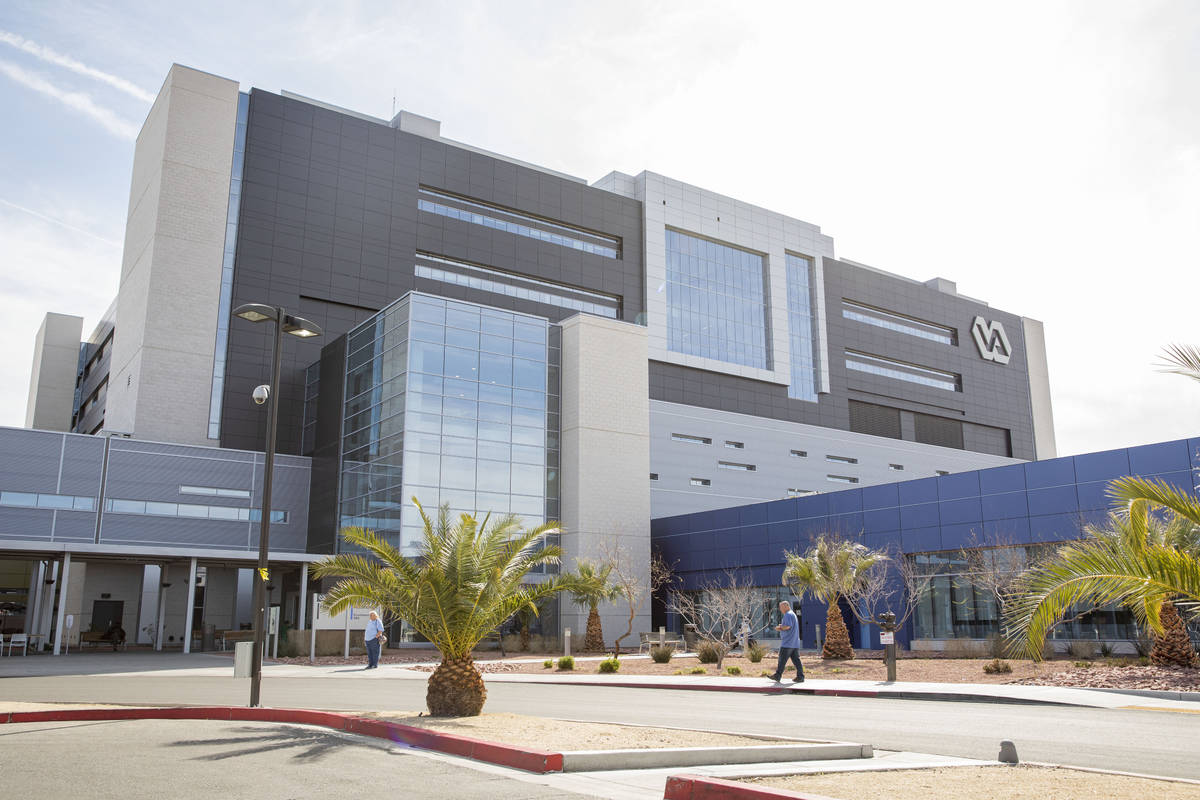El Centro Médico del Sistema de Salud del VA del Sur de Nevada en North Las Vegas el jueves, 5 ...