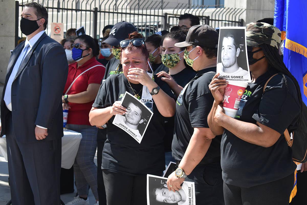 La demanda en contra de oficiales de LVMPD tiene como objetivo lograr justicia y respuestas a l ...
