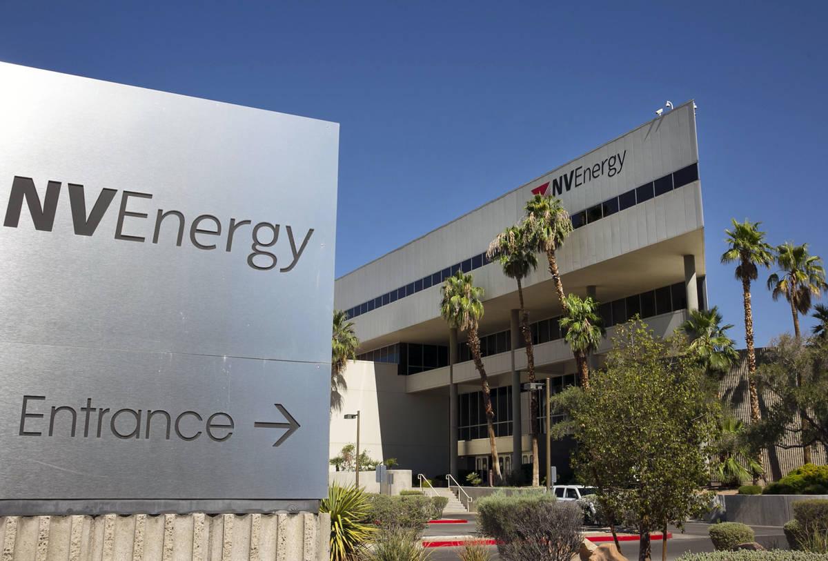 El edificio de la sede de NV Energy en 6226 W. Sahara Ave., fotografiado el jueves, 16 de julio ...