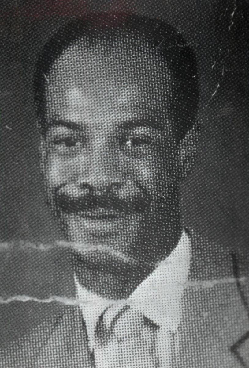 Una foto sin fecha de Charles Edward Bush. (Archivo del Las Vegas Review-Journal)