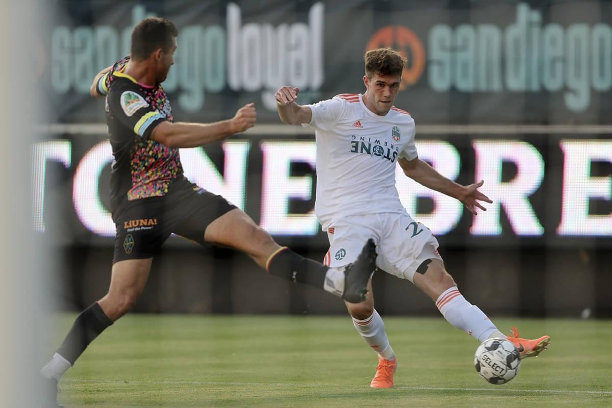 San Diego Loyal venció 2-1 a Las Vegas Lights FC en juego correspondiente a la temporada 2020 ...