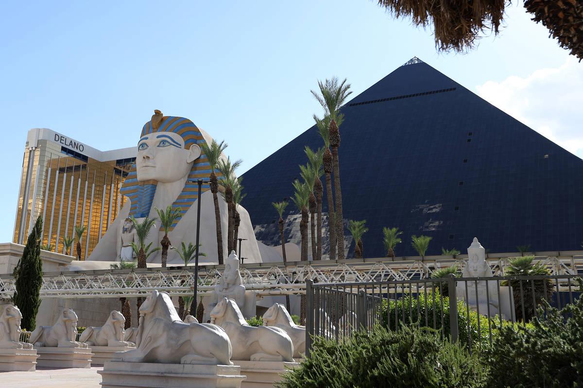 Luxor en Las Vegas Strip. (Erik Verduzco / Las Vegas Review-Journal) @Erik_Verduzco