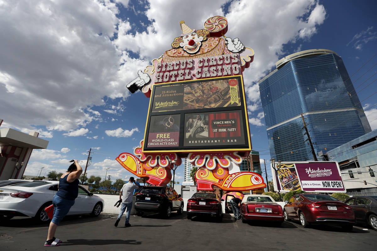Circus Circus en Las Vegas Strip. (Erik Verduzco / Las Vegas Review-Journal) @Erik_Verduzco