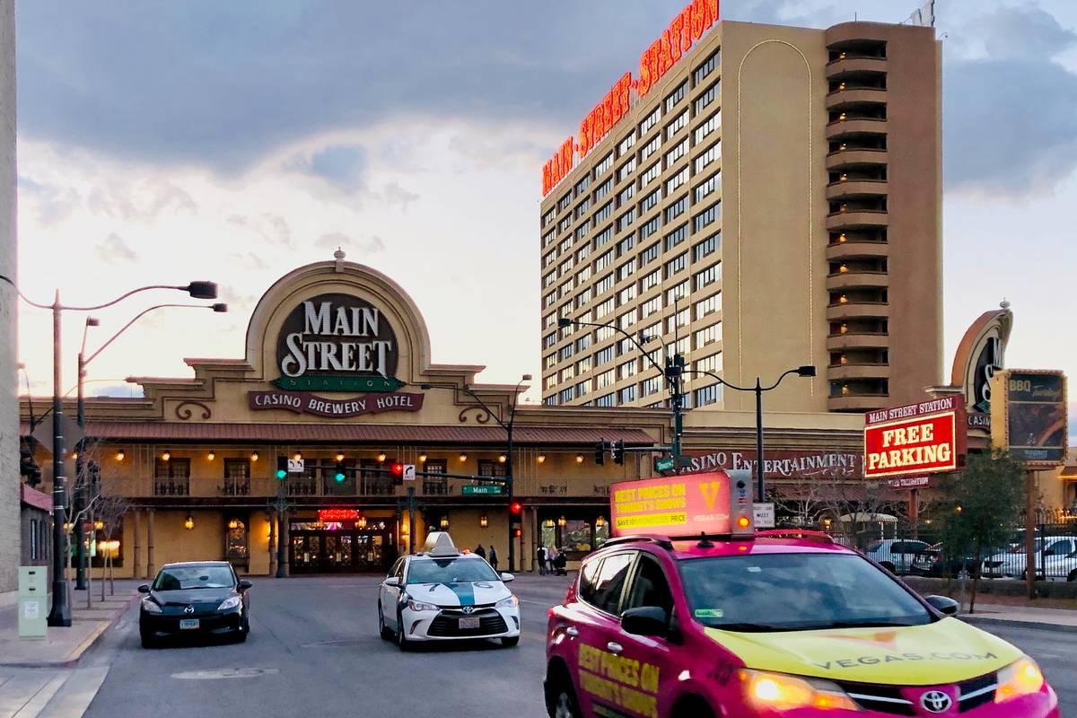 Main Street Station, operada por Boyd Gaming Corp. el sábado, 14 de marzo de 2020 en Las Vegas ...