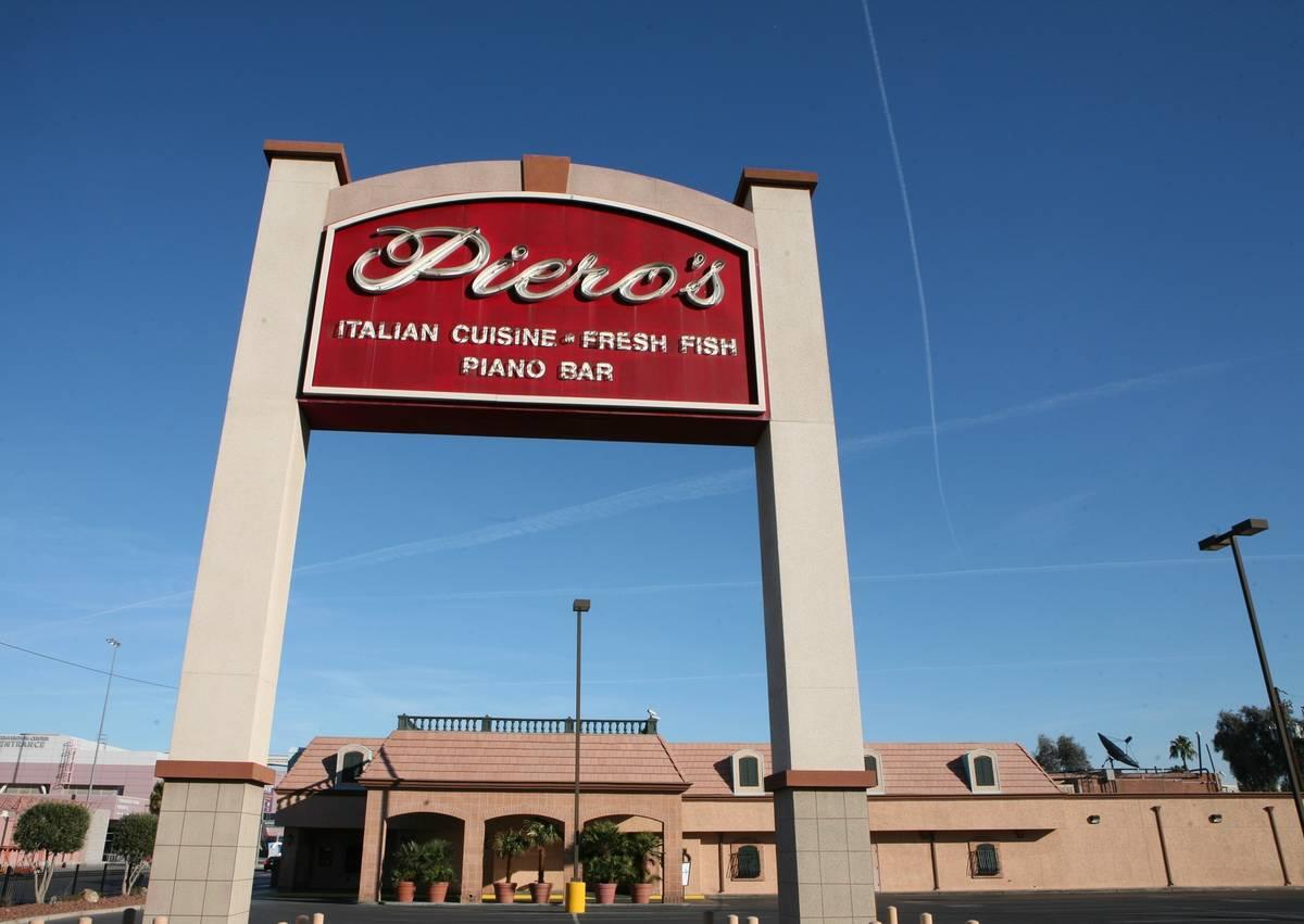 Peiro's Italian Cuisine. (Archivo del Las Vegas Review-Journal)