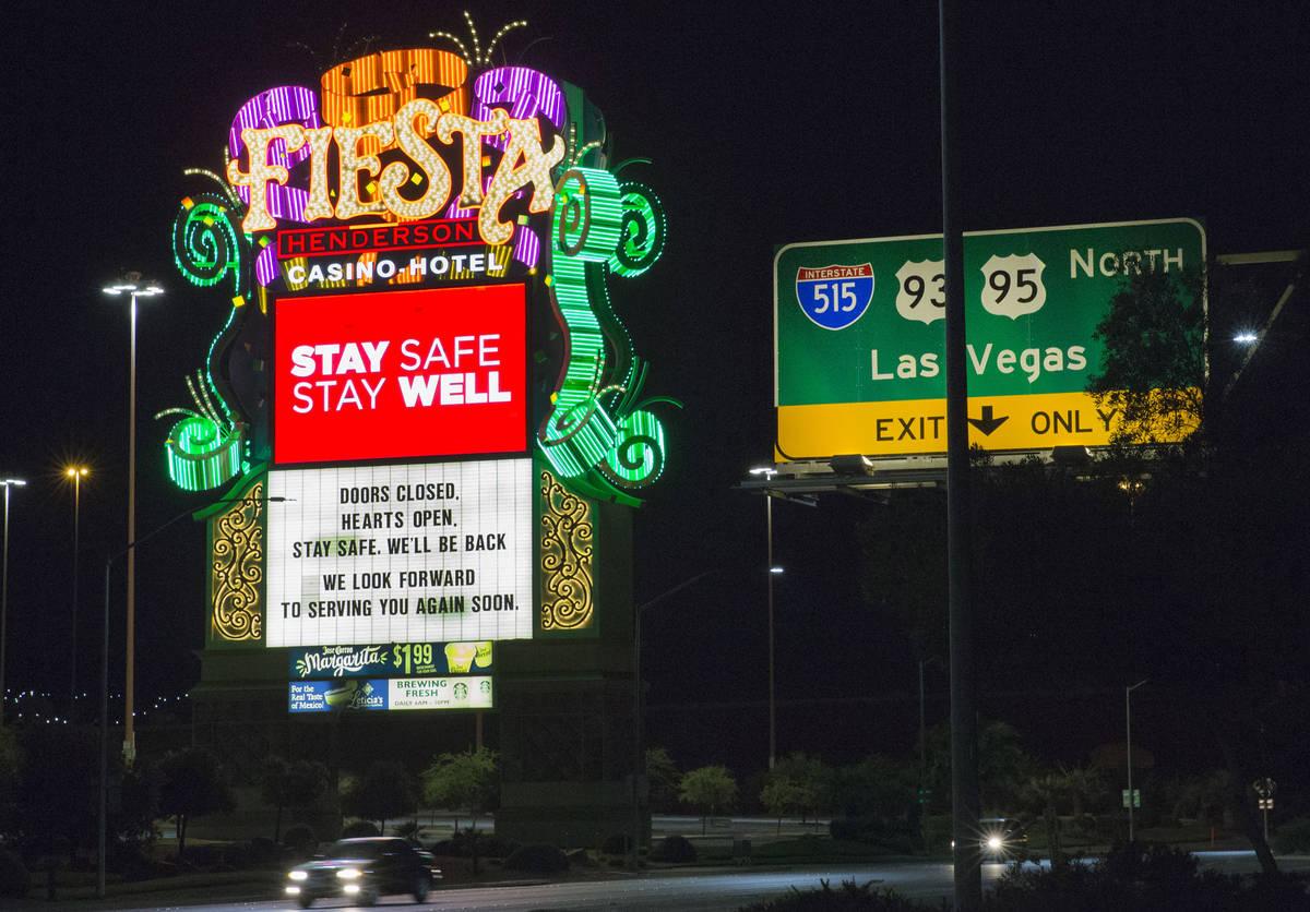 Hotel-casino Fiesta fotografiado el lunes, 18 de mayo de 2020, en Henderson. (Bizuayehu Tesfaye ...