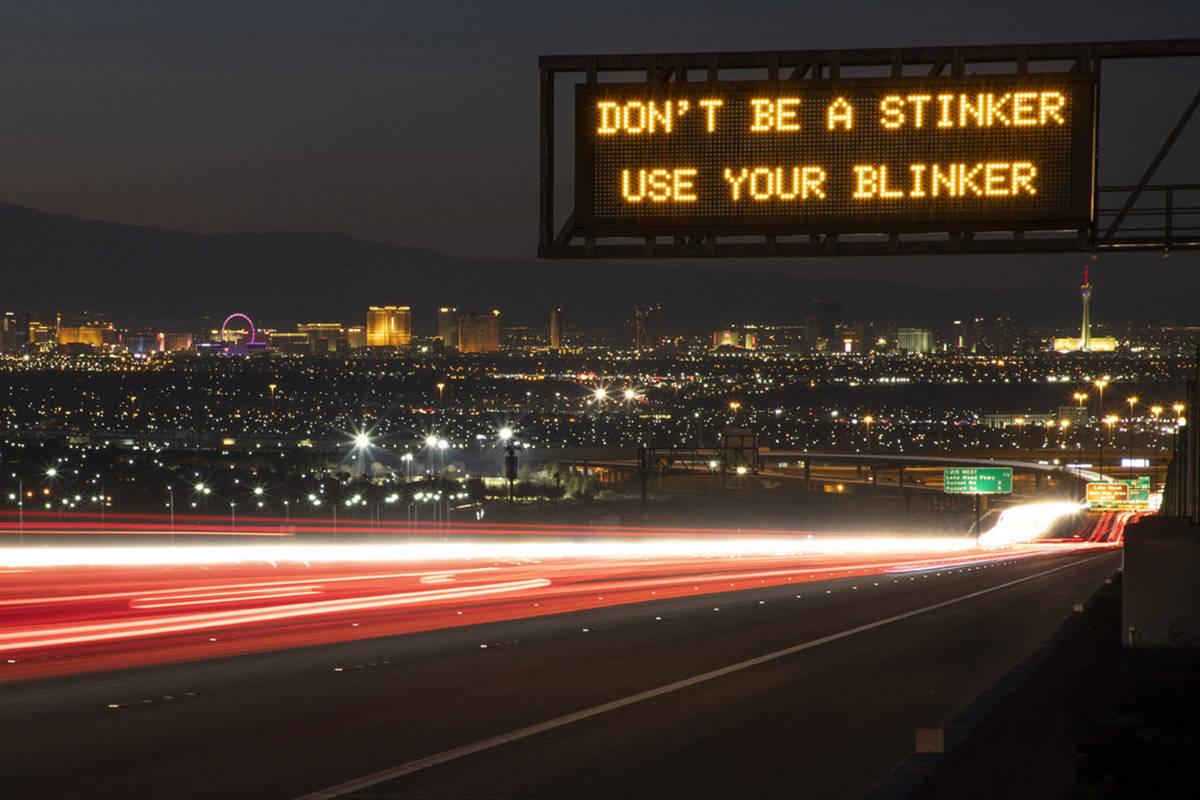 (Departamento de Transporte de Nevada).