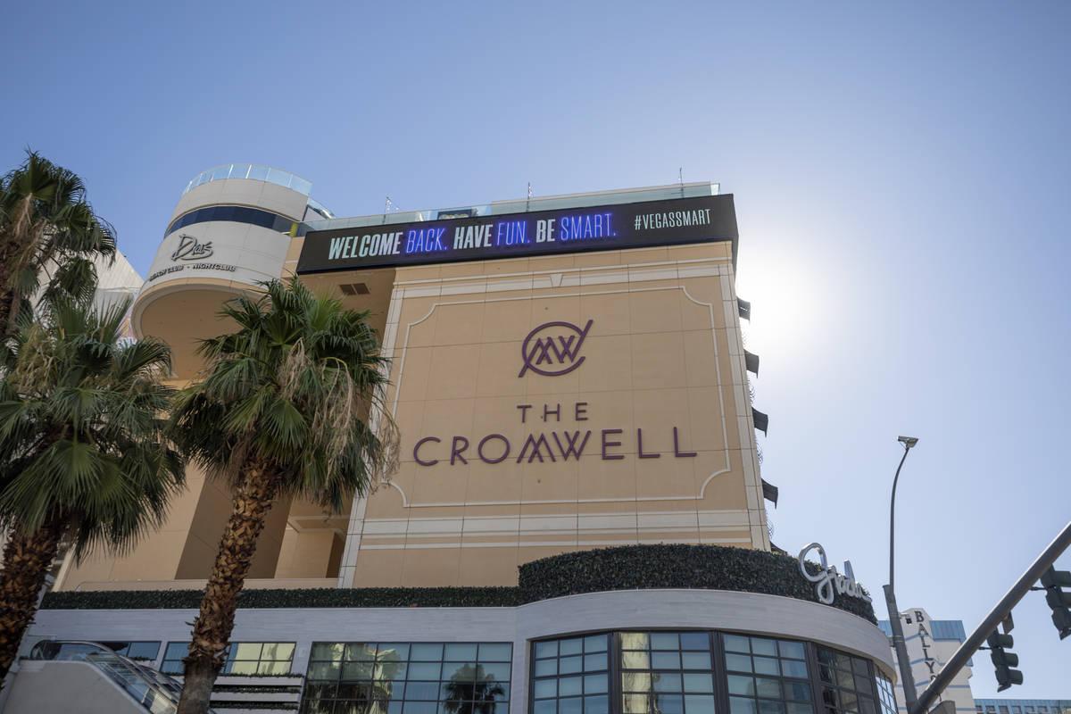 Una vista del Cromwell de Las Vegas el miércoles, 12 de agosto de 2020. (Elizabeth Brumley/Las ...