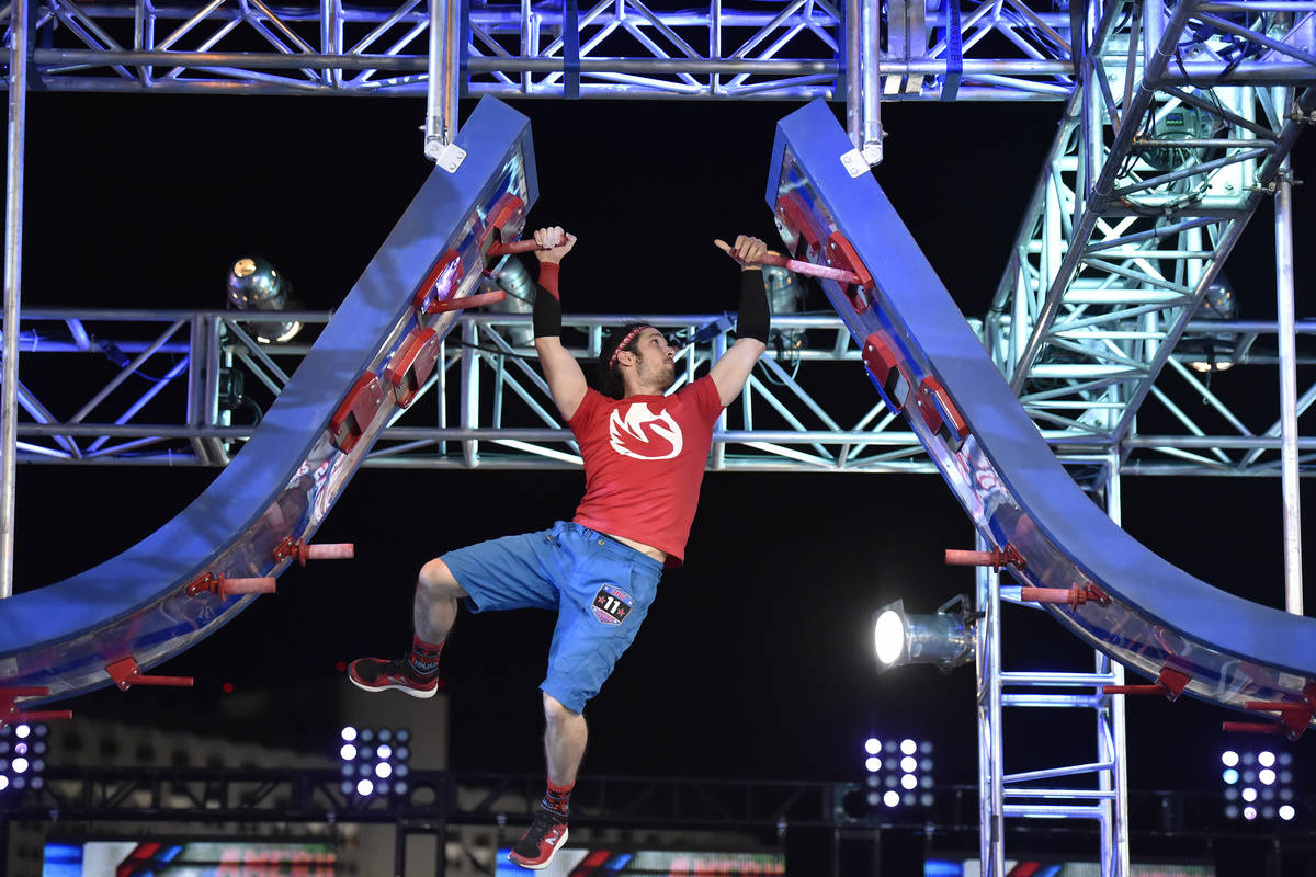 "AMERICAN NINJA WARRIOR - ""Las Vegas National Finals Night 4"" Episodio 1116 - Fotografía: Ethan ..."