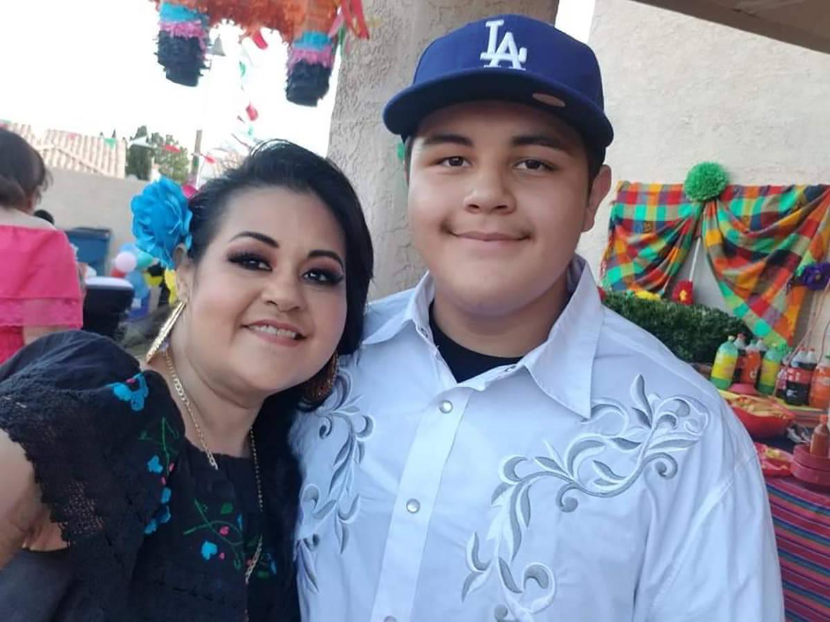 Arlett Valencia asegura que su hijo Fabián ha sido su principal motivación para seguir luchan ...