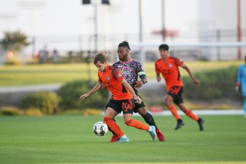 Orange County SC venció por 1-0 a Las Vegas Lights FC, en juego correspondiente a la temporada ...