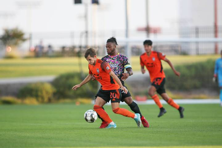 Orange County SC venció por 1-0 a Las Vegas Lights FC, en juego correspondiente a la temporada ...