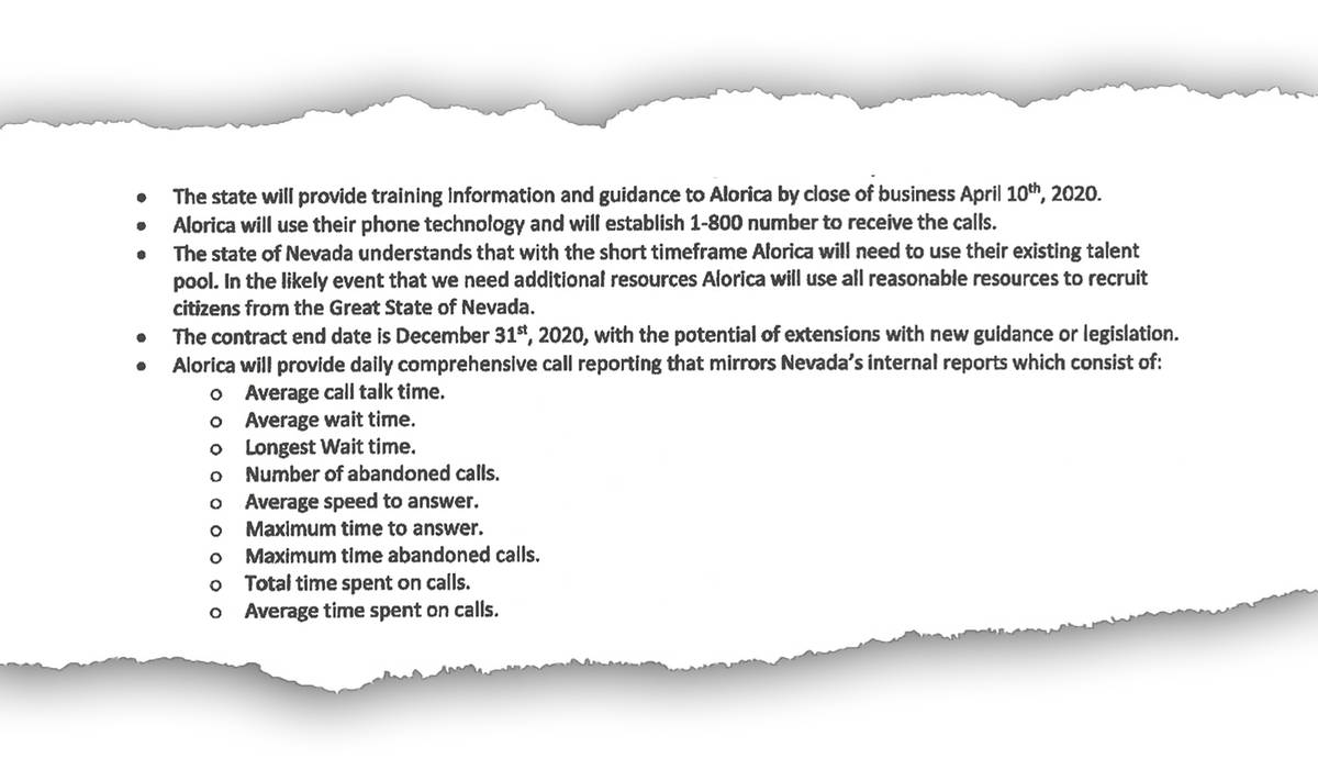 Un recorte del contrato del Departamento de Empleo, Capacitación y Rehabilitación con Alorica
