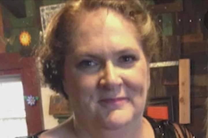 Kimberly Gervais de California, que fue herida en el tiroteo masivo de 2017 en el Strip de Las ...