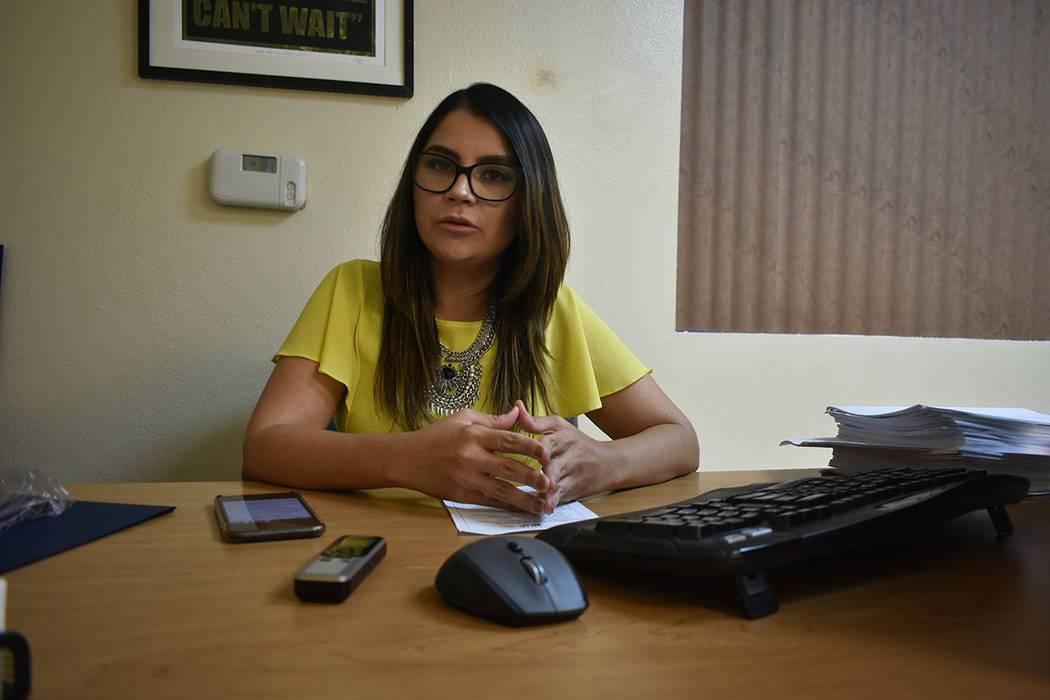Fotografía de archivo de la directora de Mi Familia Vota Nevada, Cecia Alvarado. Jueves 15 de ...