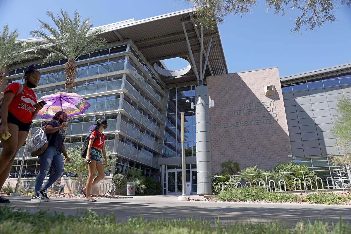 El Centro de Recreación y Bienestar Estudiantil de la UNLV en Las Vegas el viernes, 4 de septi ...