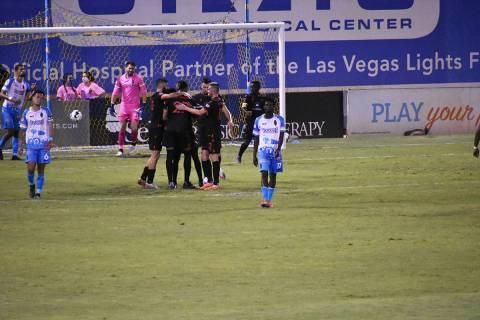 Phoenix Rising jugó un buen partido y superó en la cancha a Las Vegas Lights FC. Sábado 5 de ...