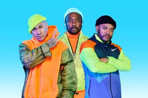 Black Eyed Peas. [Foto Cortesía, vía Santa Cruz Communications]
