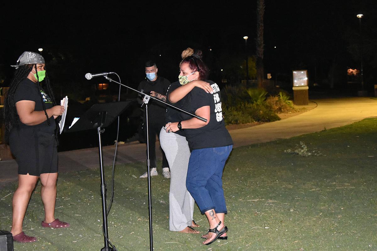 La madre de Jorge Gómez, Jeannie Llera, aseguró que seguirá en la lucha para pedir justicia ...