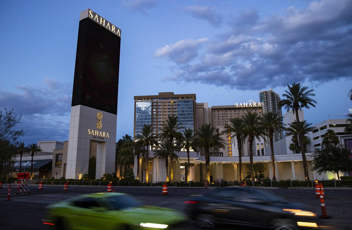 Sahara Las Vegas, 21 de julio de 2020. (Chase Stevens/Las Vegas Review-Journal) @csstevensphoto