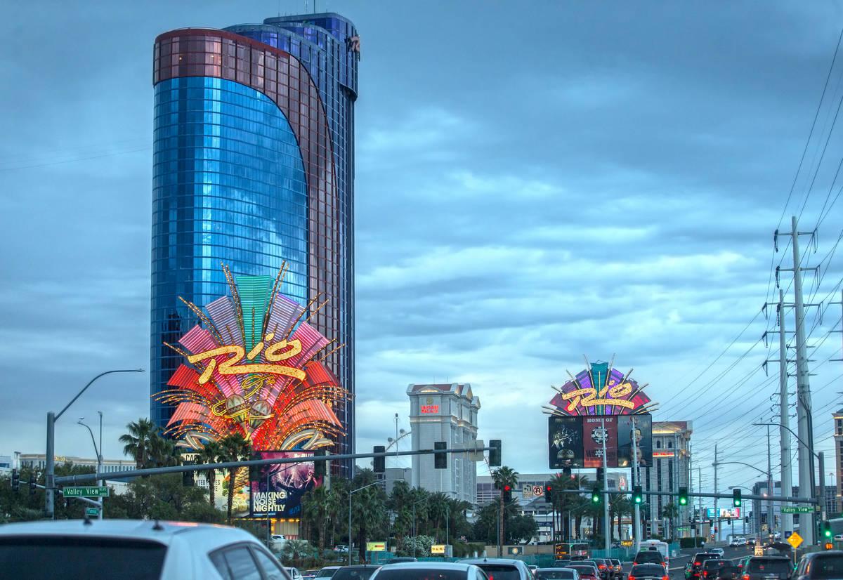 Río en Las Vegas el 9 de mayo de 2019. (Benjamin Hager/Las Vegas Review-Journal) @BenjaminHphoto