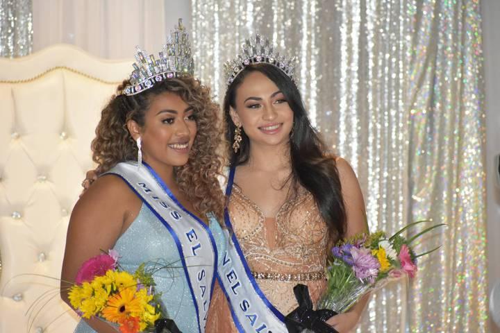 Jazmín Martínez Quintanilla fue coronada como Miss El Salvador Nevada 2020-21 y Karina Caniza ...