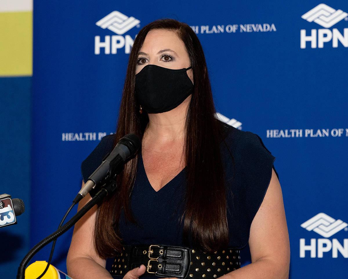 Wendy Albert, presidenta de la junta directiva de Boys & Girls Clubs of Southern Nevada. Miérc ...