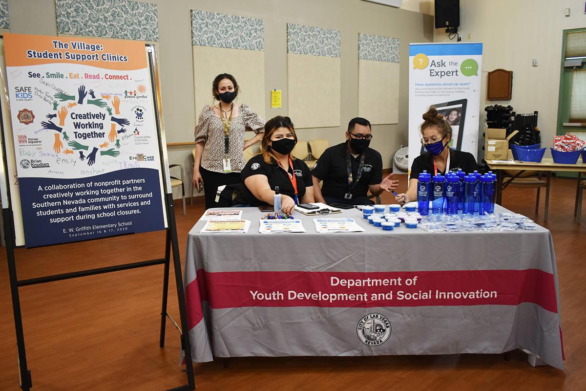 El Departamento de Desarrollo Juvenil e Innovación Social del Ayuntamiento de Las Vegas inform ...