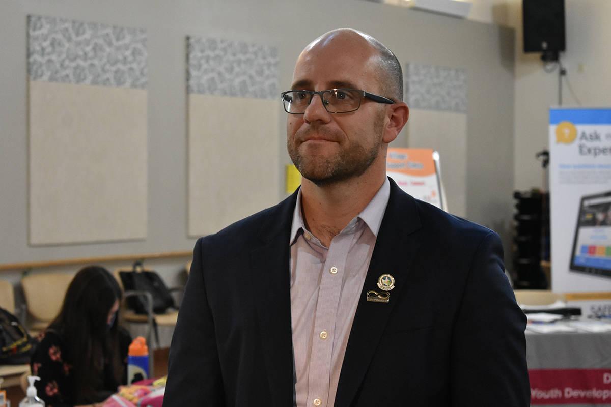 El concejal de Las Vegas, Brian Knudsen, habló de la importancia de acercar recursos a comunid ...