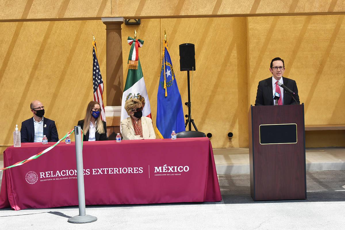 La inauguración de la Semana Binacional de Salud contó con la presencia de alcaldesa de Las V ...