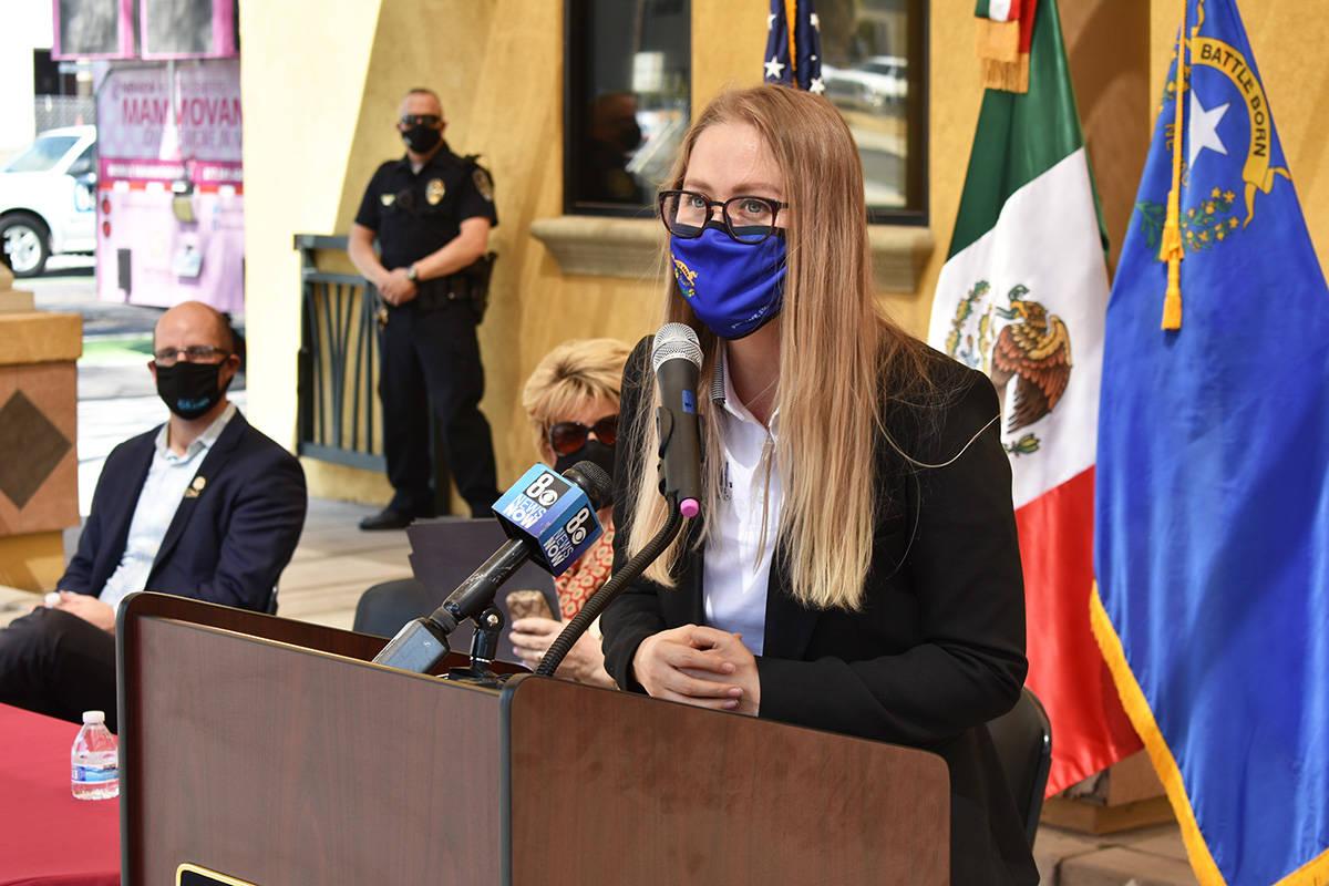 La directora ejecutiva de REACH, Rebeca Aceves, agradeció el apoyo recibido para realizar la S ...