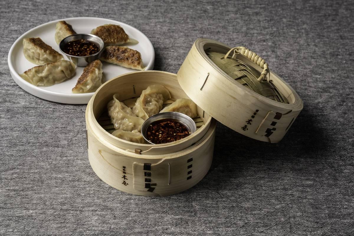 Dumplings entre los primeros platillos confirmados para el menú de 8 East. (Mark Medina)