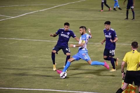 Las Vegas Lights FC consiguió un empate de último minuto ante LA Galaxy II en juego correspon ...
