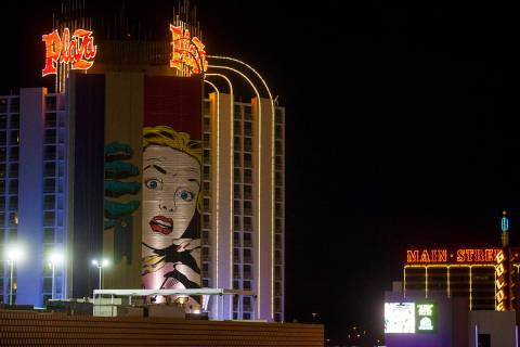 Fotografía de archivo del hotel & caisno Plaza. [Foto Miranda Alam / Las Vegas Review-Journal]