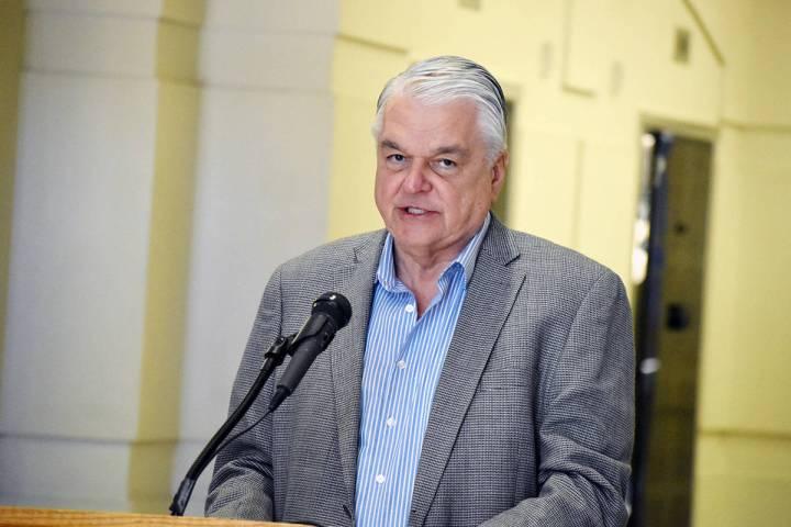 El gobernador del estado Steve Sisolak, anunció que, desde el primero de octubre, se flexibili ...