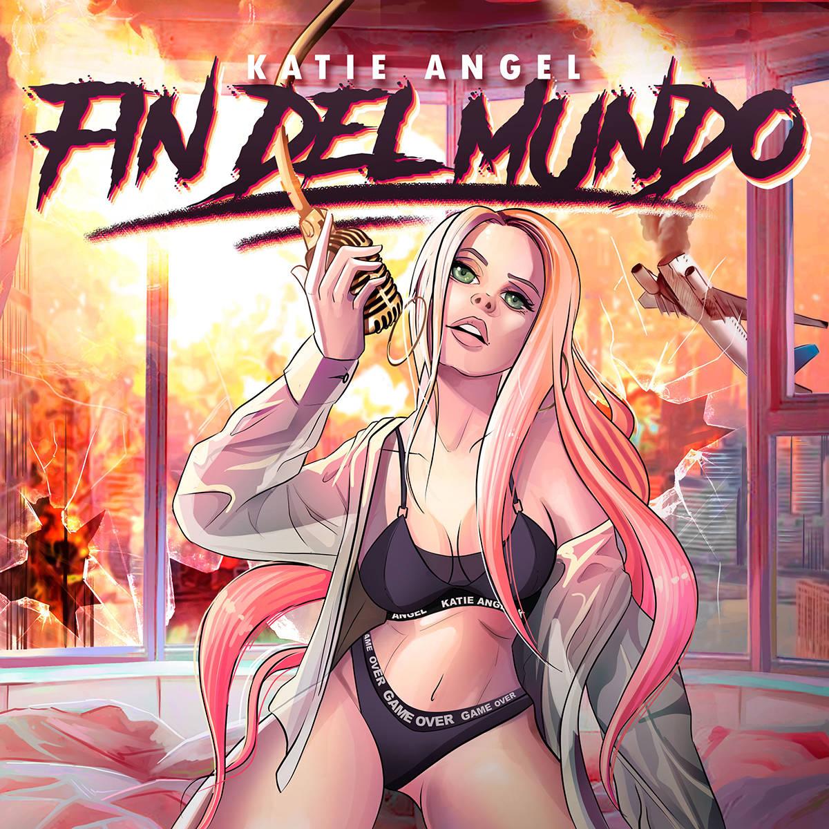 """Katie Ángel enciende las redes sociales y con el sencillo """"Fin Del Mundo"""" logra millones d ..."""