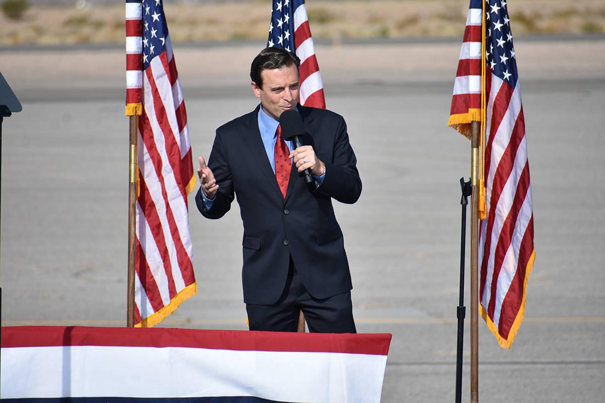 El ex-procurador general de Nevada, Adam Laxalt, elogió el trabajo hecho por el presidente Don ...