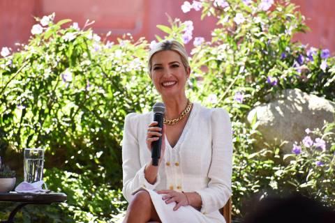 La hija y asesora del presidente Donald Trump, Ivanka Trump, visitó Las Vegas en un evento en ...