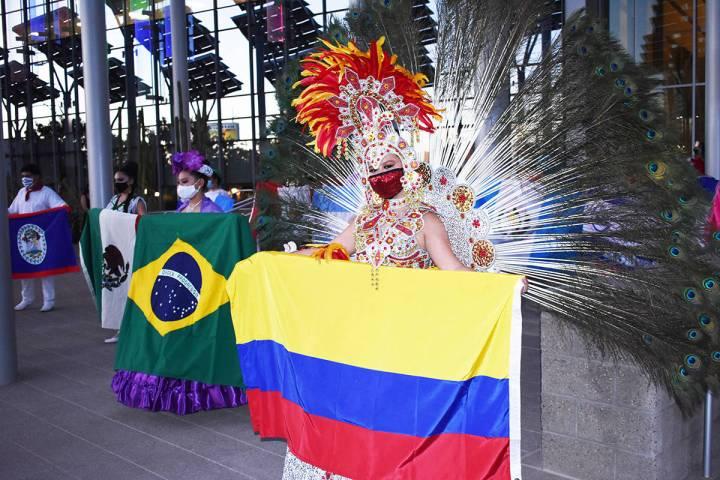 Los participantes portaron cubre-bocas y se mostraron entusiasmados por celebrar la cultura his ...