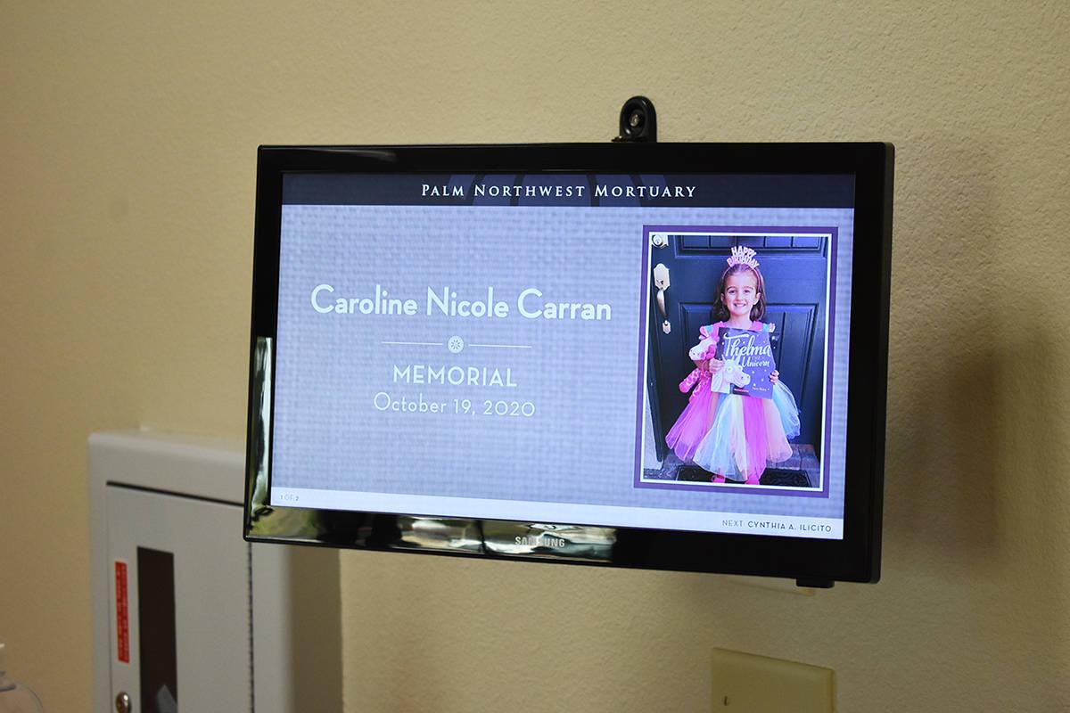 Nevada Donor Network y Palm Northwest Mortuary and Cemetery realizaron una ceremonia privada pa ...