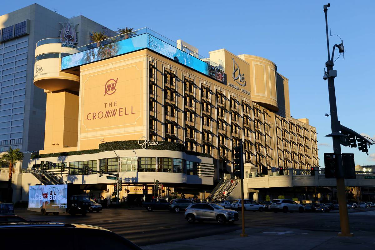The Cromwell en el Strip en 2018. (K.M. Cannon Las Vegas Review-Journal @KMCannonPhoto)