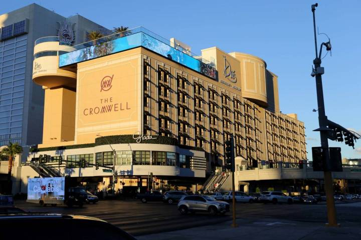 The Cromwell en el Strip en 2018. (K.M. Cannon Las Vegas Review-Journal @KMCannonPhoto)