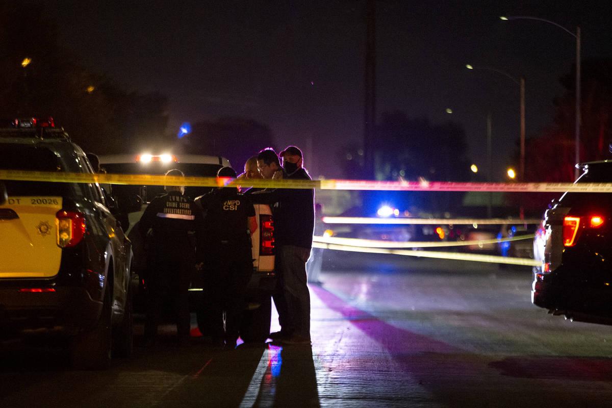 La Policía Metropolitana investiga un homicidio en la cuadra 2900 de la Avenida Marlin el sáb ...