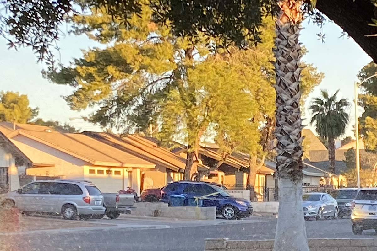 La policía de Las Vegas investiga un presunto asesinato-suicidio cerca de la Autopista U.S. 95 ...